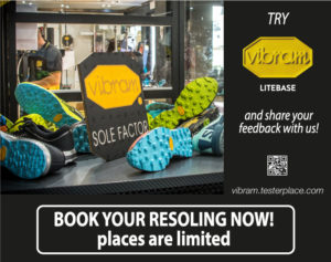 Try the Vibram technology!