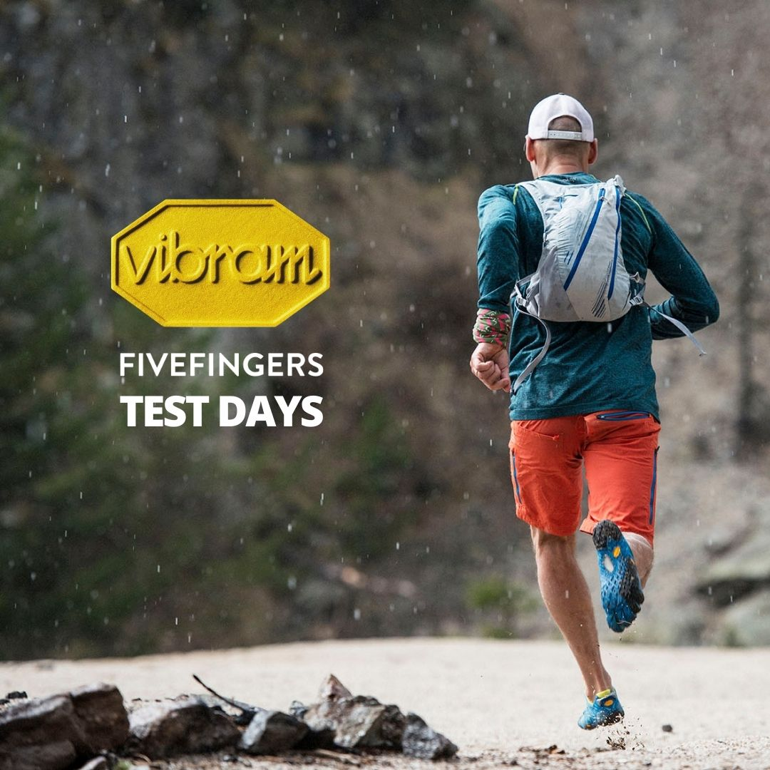 VibramFiveFingers Experience at the Vibram stand