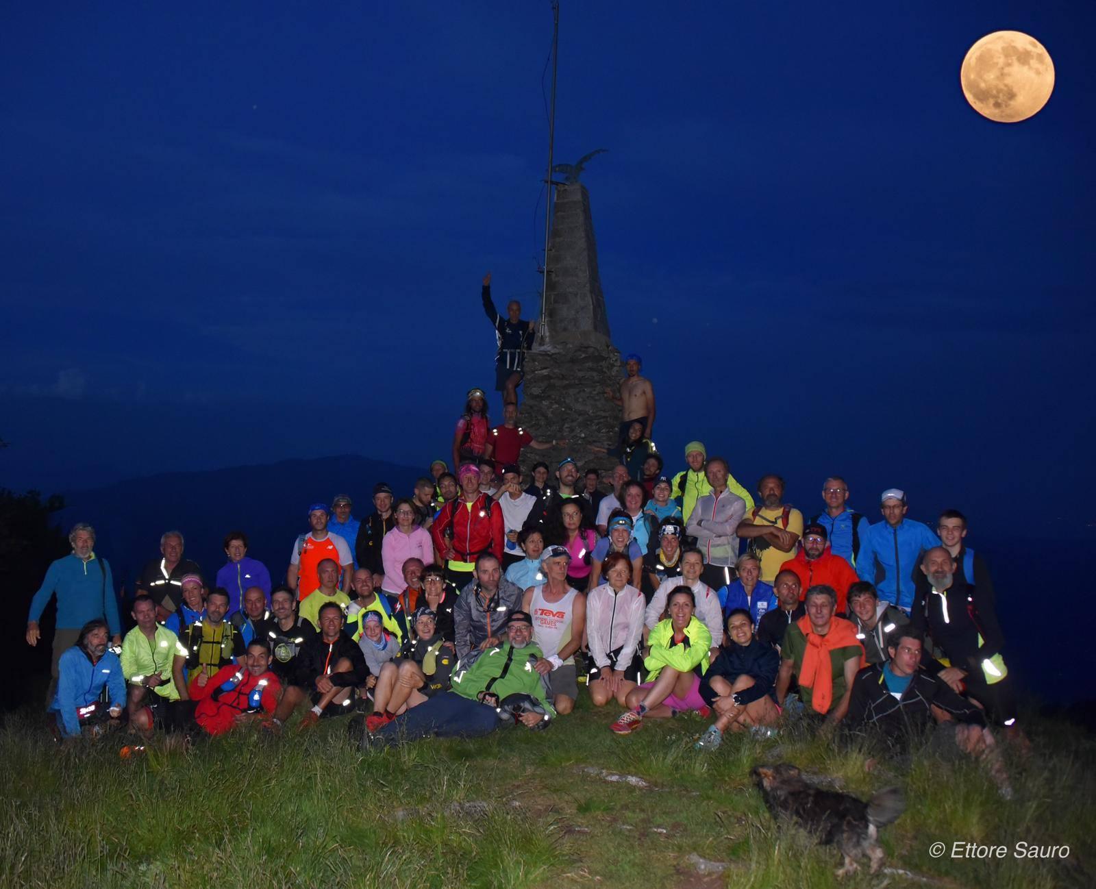 Overnight climb on the Mazzuccone
