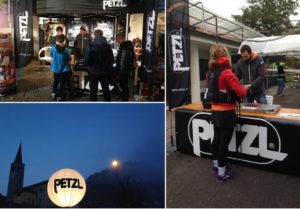 Petzl® lights up the Vibram®UTLO night